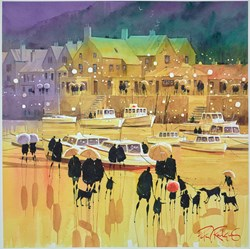 Low Tide III by Peter J Rodgers -  sized 16x16 inches. Available from Whitewall Galleries